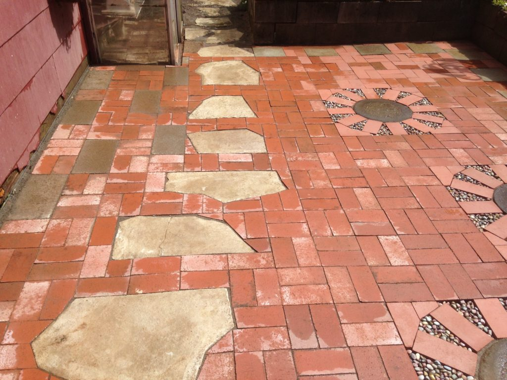 Used Brick Pavers and other Materials from Site