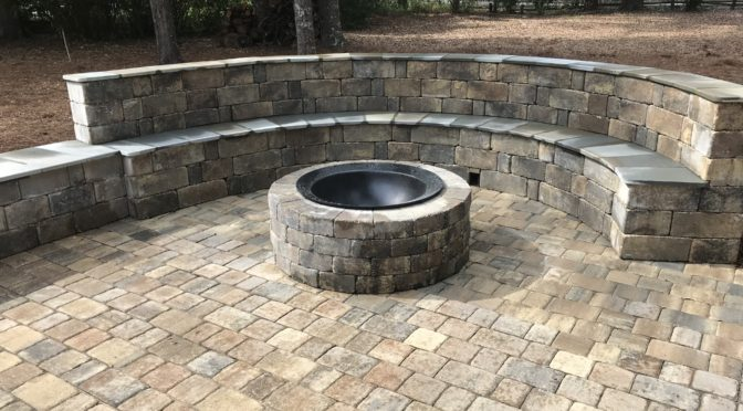 Patio Seating and Kitchen